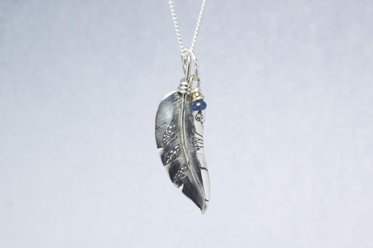 Orenda's bespoke jewellery - Feather and Sapphire