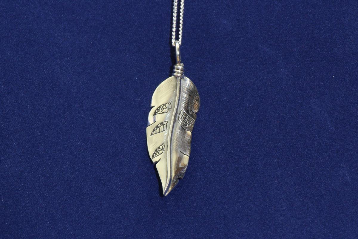 Orenda's bespoke jewellery - Feather