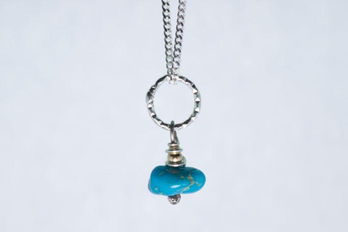 Orenda's bespoke jewellery - 'Sleeping Beauty' Turquoise